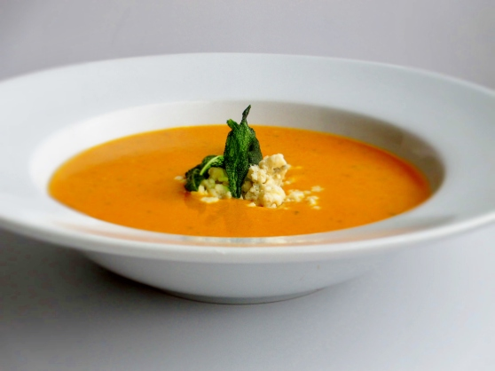 Kombucha Squash and Sage Soup